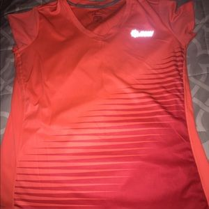 Orange Nike Run Top